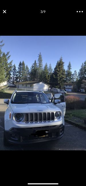 2015 Jeep renegade limited for Sale in Everett, WA