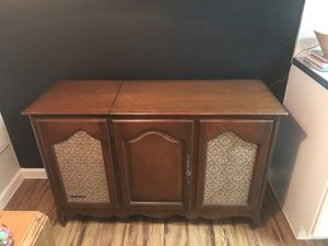 Record Player Console Table for Sale in Austin, TX