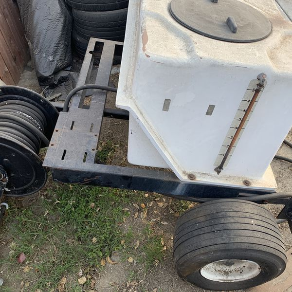 Water Carrier With Trailer