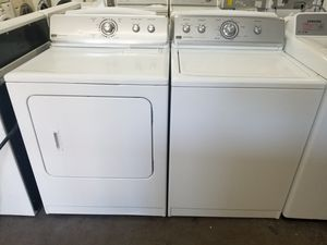 Maytag Centennial washer and Maytag Centennial electric dryer for Sale in The Colony, TX