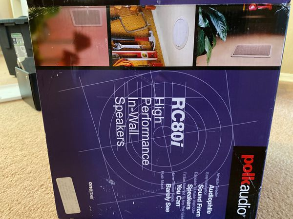 Polk audio in wall speaker