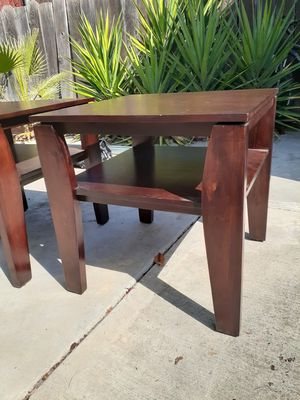 End table with shelf for Sale in San Jose, CA