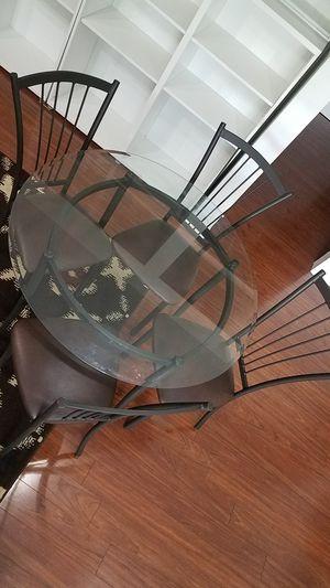 Glass dining table set for Sale in Manassas, VA