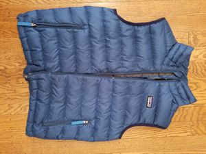 Patagonia youth down vest, barely worn for Sale in Seattle, WA