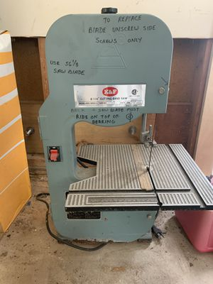 K & F 8 1/4 Cutting Ban Saw for Sale in West McLean, VA