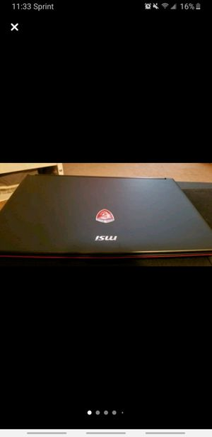 Msi gaming G series laptop for Sale in Harrison, NY