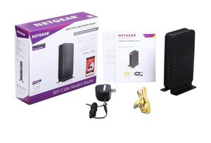 NETGEAR N600 (8x4) WiFi DOCSIS 3.0 Cable Modem Router (C3700) Certified for Xfinity from Comcast, Spectrum, Cox, Spectrum & more for Sale in Miami, FL