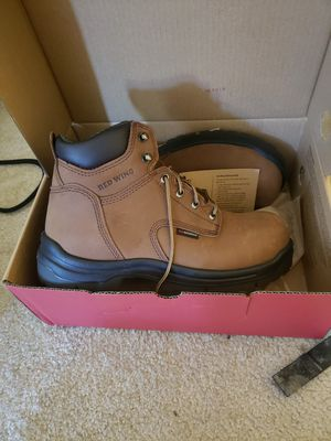 Red wings steel toe work boots for Sale in Cupertino, CA