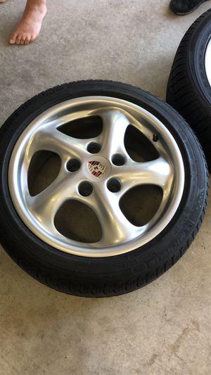 Porsche rims with Michelin tires for Sale in Livonia, MI