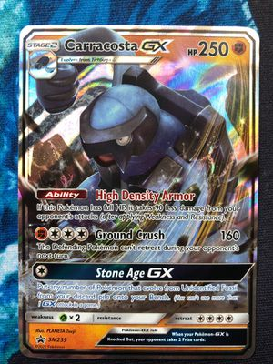 Carracosta GX SM239 Promo from Pokémon TCG for Sale in Dallas, TX