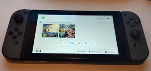 Nintendo switch console with joy cons and charger for Sale in Whittier, CA