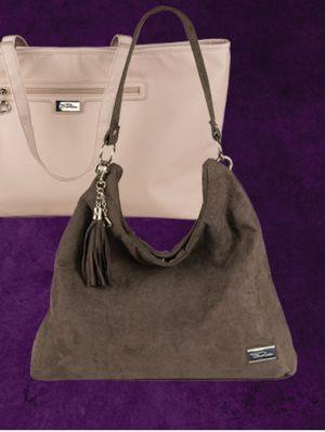 New! Bella Russo Brown Microsuede Slouched Handbag Purse for Sale in Moreno Valley, CA