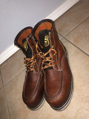 Steal toe work boots for Sale in Oxnard, CA