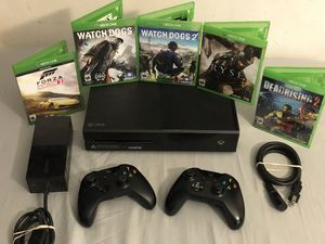 Microsoft Xbox One w/ 16 Games and 2 Controllers for Sale in Mesa, AZ