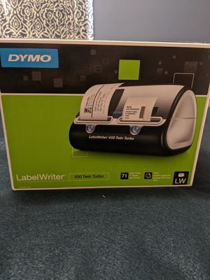 Dymo 450 twin turbo label writer..NEW for Sale in Baltimore, MD