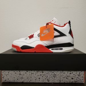 Nike Air Jordan 4 Retro OG 'Fire Red' 2020 Mens 10.5 for Sale in Los Angeles, CA