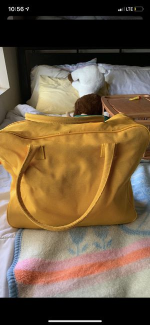 Large yellow bag for Sale in Ontario, CA