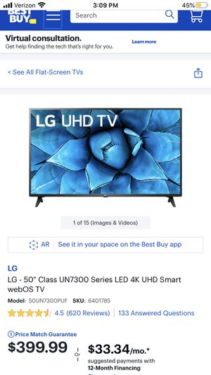 50 inch LG TV for Sale in Vancouver, WA