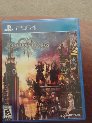 Kingdoms Hearts 3 (PS4) for Sale in Plant City, FL