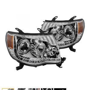 Spyder® PRO-JH-TT05-LED-C Chrome Halo projector headlights for Sale in Stockton, CA