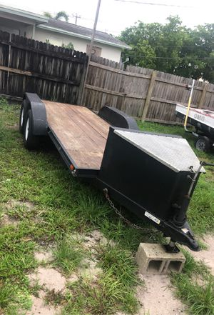 16x5 double axel trailer for Sale in Fort Lauderdale, FL