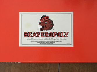 1st Edition Beaversopoly Board Game for Sale in Wilsonville,  OR