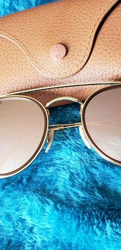 Ray Ban Round Double Bridge Sunglasses for Sale in Charlotte,  NC