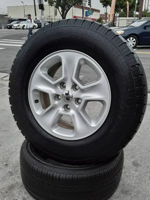 "17"" (5) WHEELS Jeep Wrangler Grand Cherokee TAKE-OFF Wheels Rims setof5 for Sale in Los Angeles, CA"