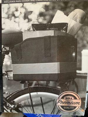 Bell cargo 500 bike rack shopping basket for Sale in Draper, UT