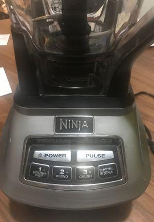 Ninja 1500 Watt blender with food processor attachments for Sale in Renton, WA