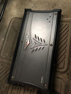3000 watts monoblok kicker ZX1500.1 for Sale in Boston, MA