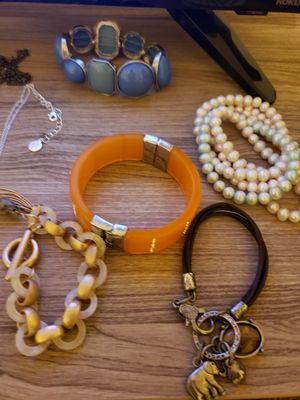 Fun Mix of Costume Jewelry, Dainty and Statement for Sale in Portland, OR