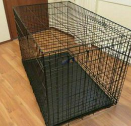 Double Door Wire Dog Crate Top Paw Brand for Sale in Miami,  FL