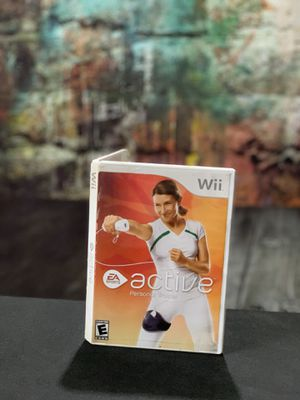 Wii active personal trainer like new for Sale in Bakersfield, CA