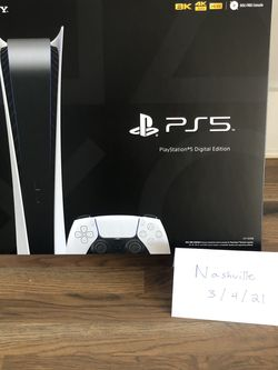 PS5 Digital Console - BRAND NEW for Sale in Nashville,  TN
