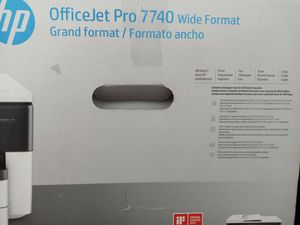 HP Ice jet pro 7740 wide format\grand format for Sale in Tacoma, WA