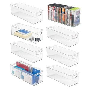 mDesign Large Stackable Plastic Storage Bin Container for Sale in Ontario, CA