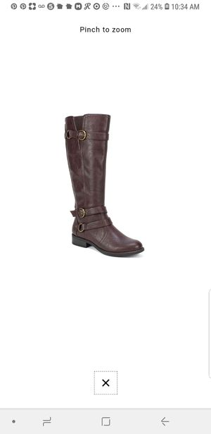 New brown riding boots size 8 for Sale in Grand Prairie, TX