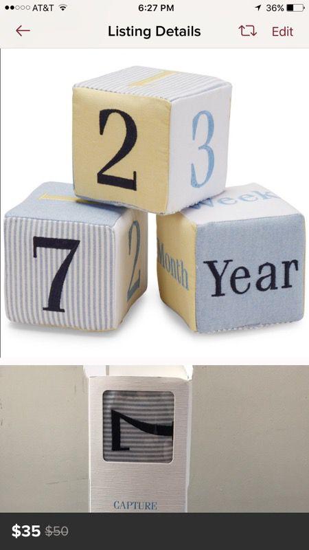Numbers for baby's milestones