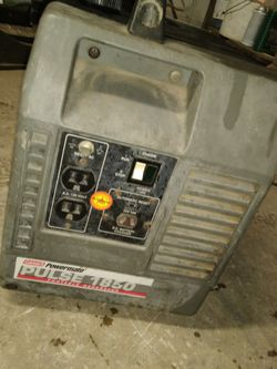 Coleman Portable Generator 1850w for Sale in Fresno,  CA