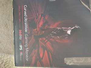 """Lg 34"""" gaming monitor for Sale in Choctaw, OK"""