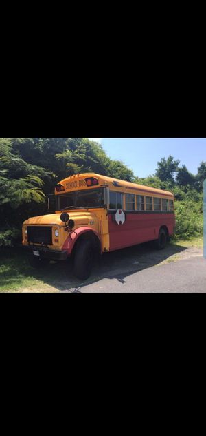 School bus still runs and drives for Sale in Norfolk, VA