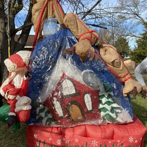 Free Christmas Outdoor Blowup for Sale in Dallas, TX