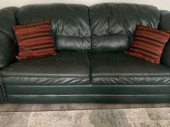 Long Green Couch for Sale in Snohomish,  WA