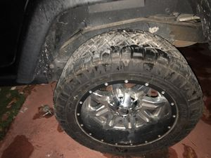 JEEP WRANGLER RIMS 2 sets for Sale in Miami, FL
