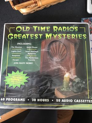 Old Tome Radio Mysteries. Perfect for Halloween! for Sale in Melbourne, FL