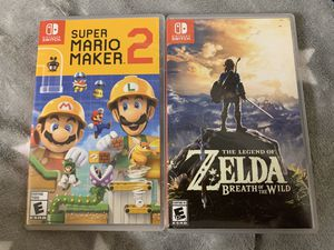 Nintendo switch games for Sale in San Jose, CA
