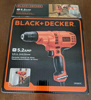 Black+Decker Drill for Sale in Fairfax, VA