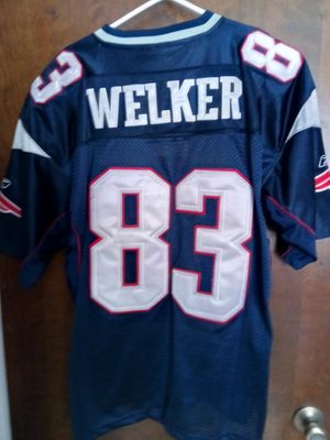 New England Patriots Wess Welker Jersey #83 for Sale in Milford Charter Township, MI