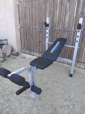 WEIDER PLATINUM STRENGTH STANDARD ADJUSTABLE WEIGHT BENCH for Sale in Goodyear, AZ